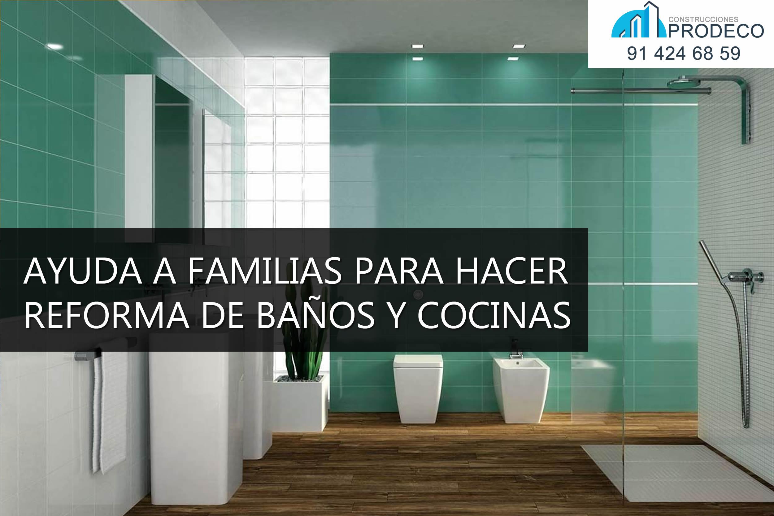 Las Familias Gallegas Tendrán Ayudas para Reformar Baños y Cocinas