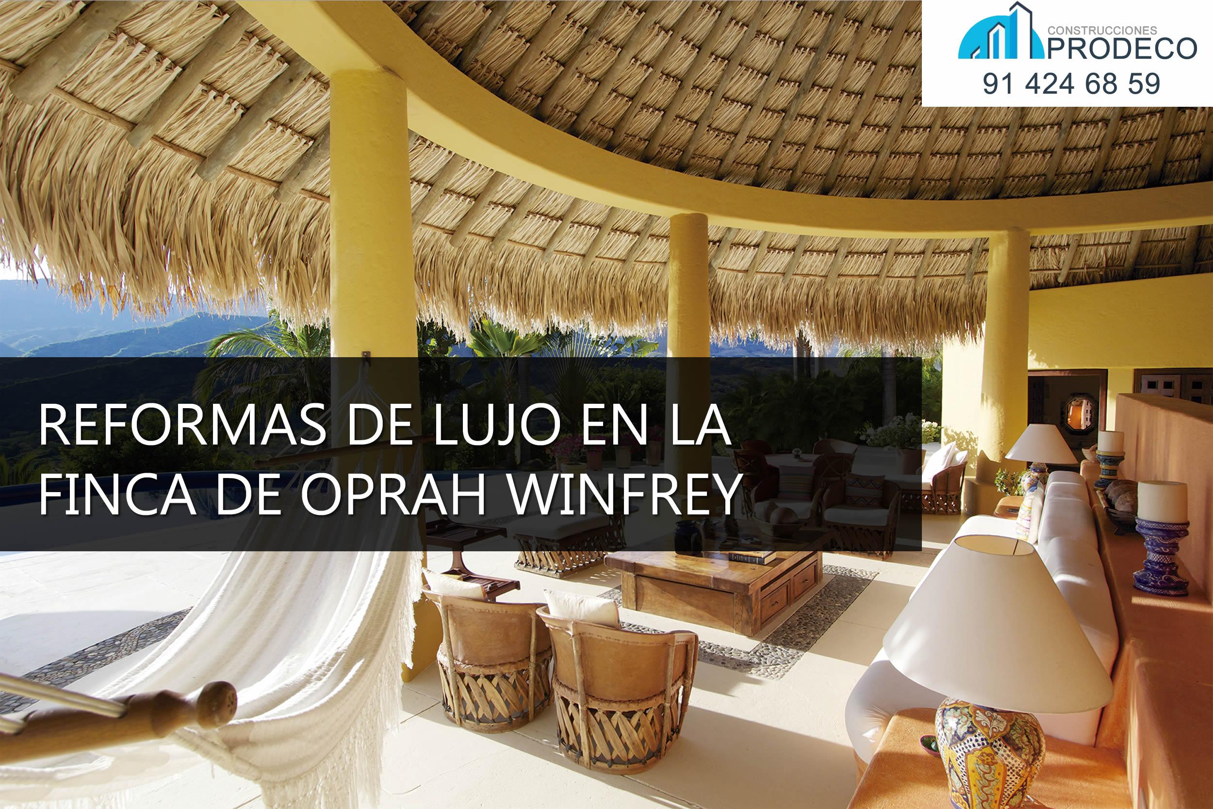 Reformas de Lujo en la Nueva Finca de Oprah Winfrey