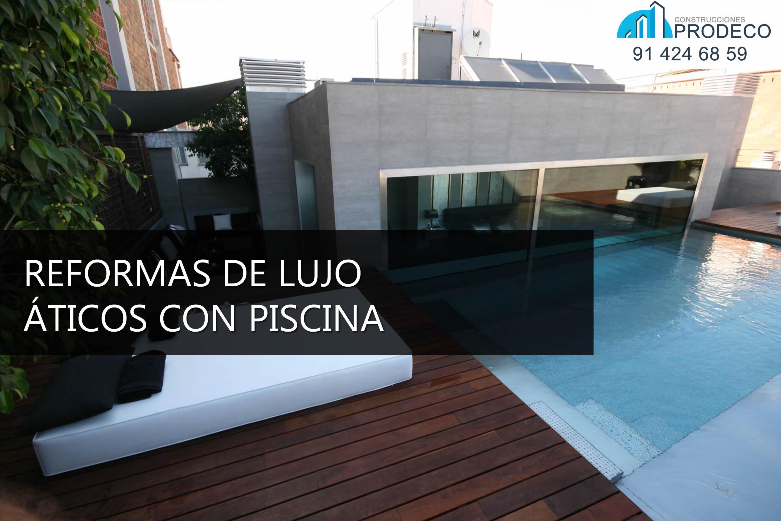 Reformas y microcementos prodeco piscinas page 3 for Aticos con piscina