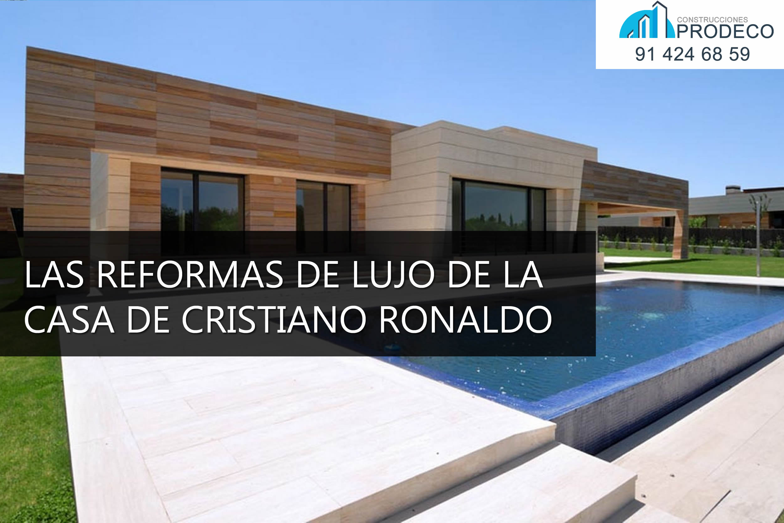 Reformas y microcementos prodeco - Fotos de la casa de cristiano ronaldo ...