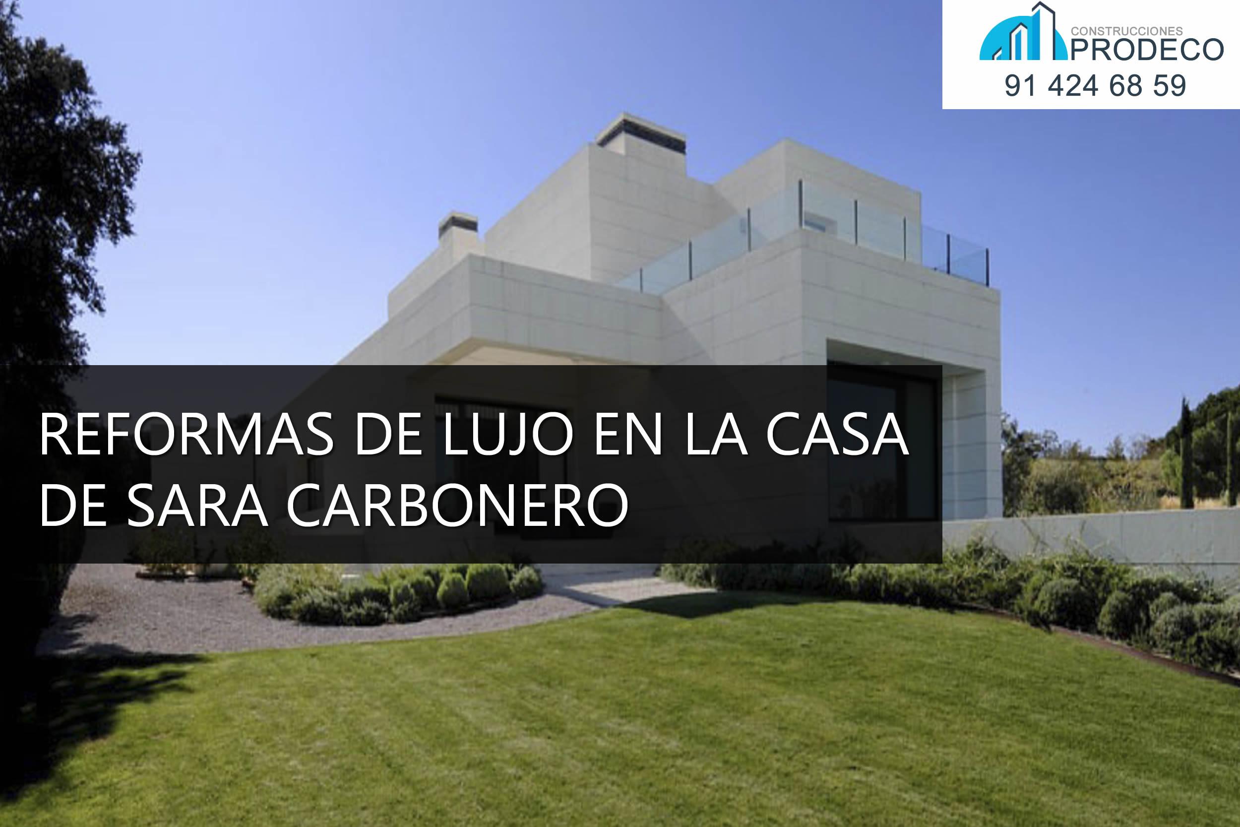 Reformas de Lujo en la Casa de Sara Carbonero en Madrid