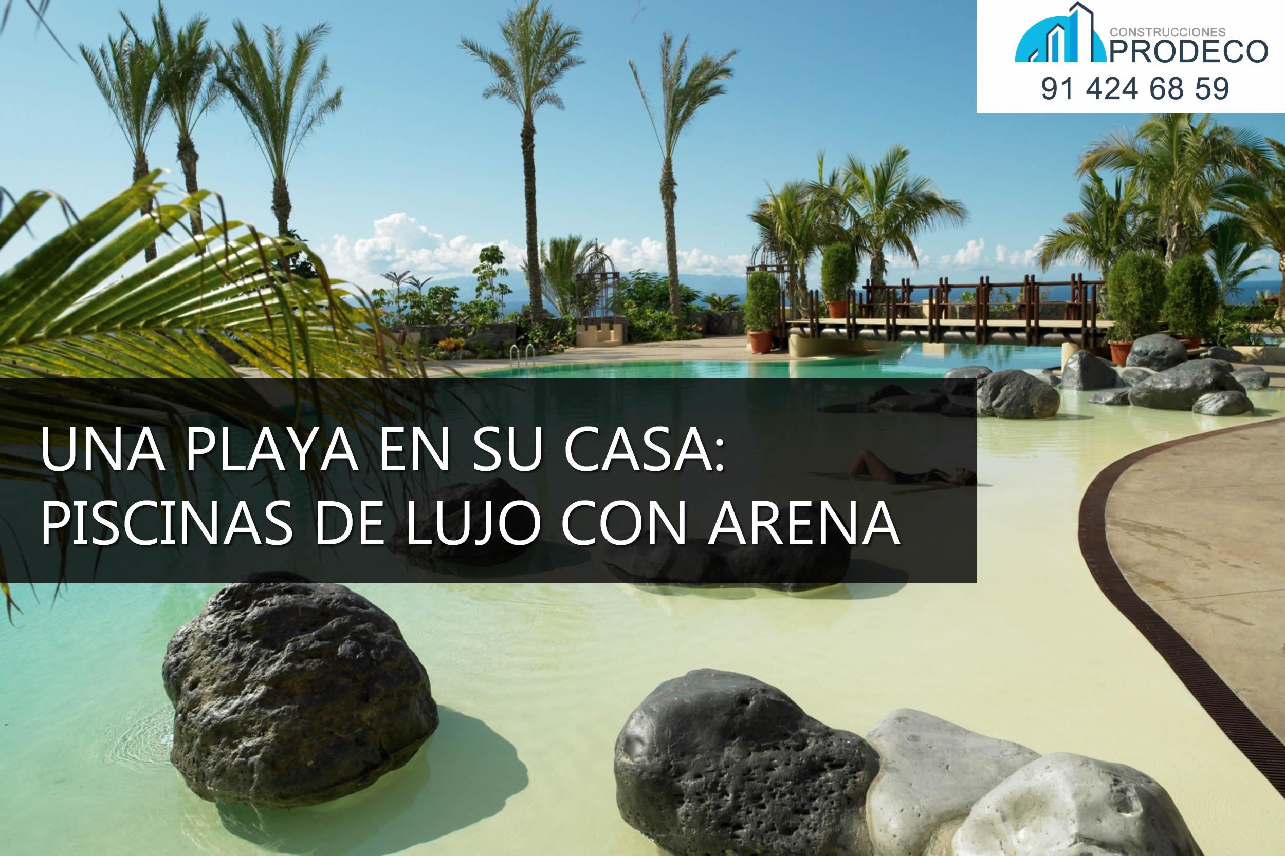 Reformas y Microcementos Prodeco |Una Playa en su casa: Piscinas de ...