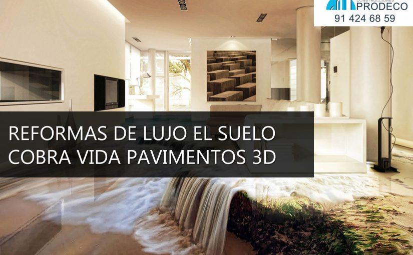 Reformas y microcementos prodeco suelos 3d for Vinilos 3d para suelo