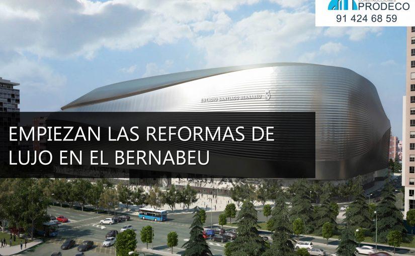 Después de la Duodécima Empiezan las Reformas de Lujo en el Bernabéu